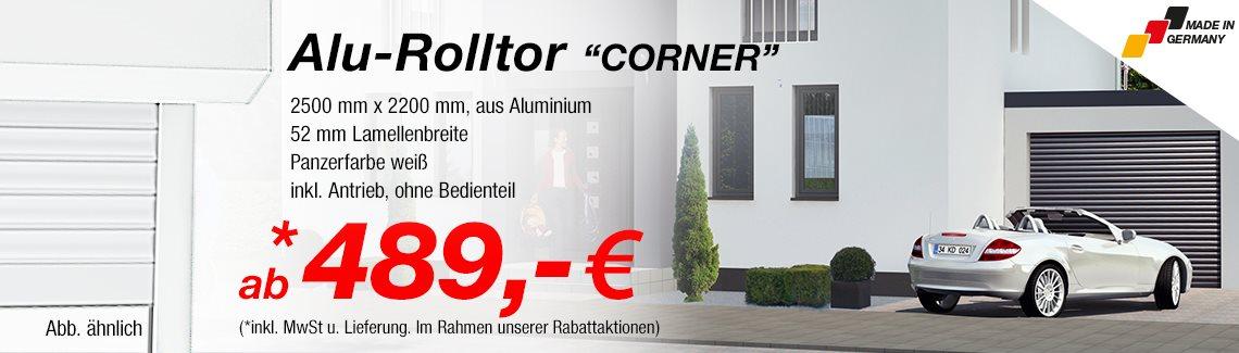 aluminium garagentore g nstig online kaufen. Black Bedroom Furniture Sets. Home Design Ideas